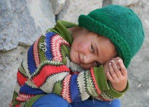 Portrait of a child by alles-schlumpf