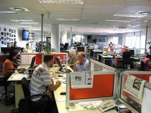Times newsroom photo by Gregor Rohrig