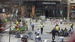 Boston bombing photo by Flickr user Rebecca Hildreth