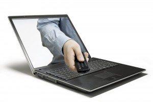 Computer remote image via Shutterstock