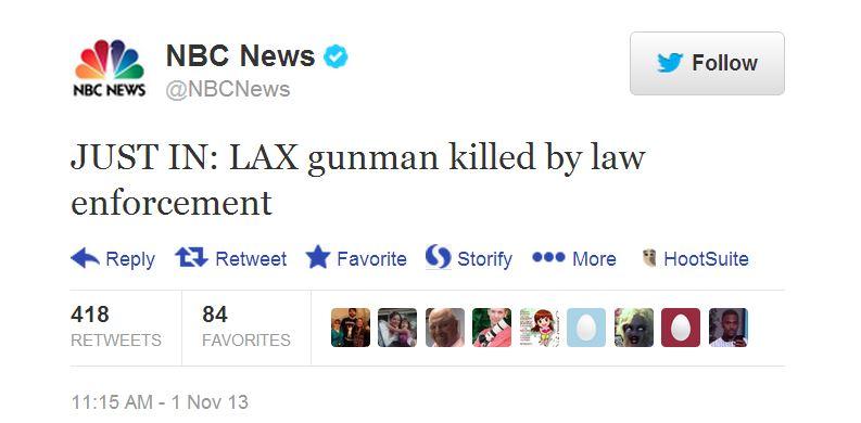 LAX-NBC tweet