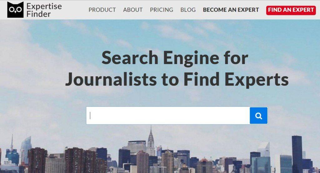 Expertise finder