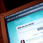 Picture of Twitter log in page