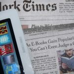 New York times on iPad and in print version
